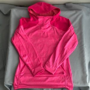 The North Face Mountain Athletics Hot Pink Hoodie
